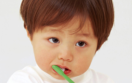 Keep your childs' teeth clean